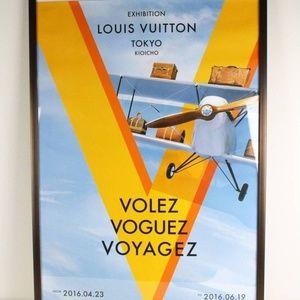 Louis Vuitton Rare Tokyo Poster